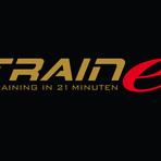Traine logo rgb auf schwarz