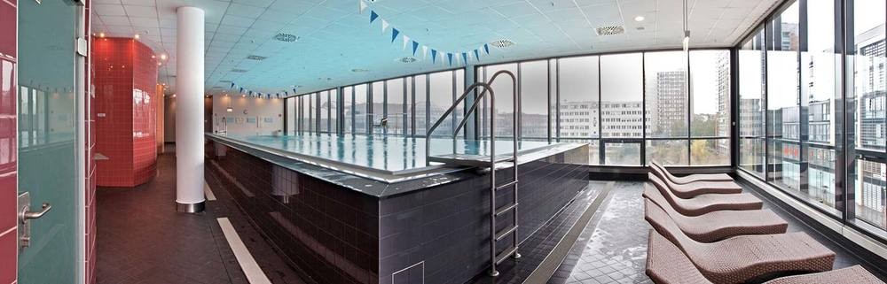 Wellness schwimmen pool becken1 2