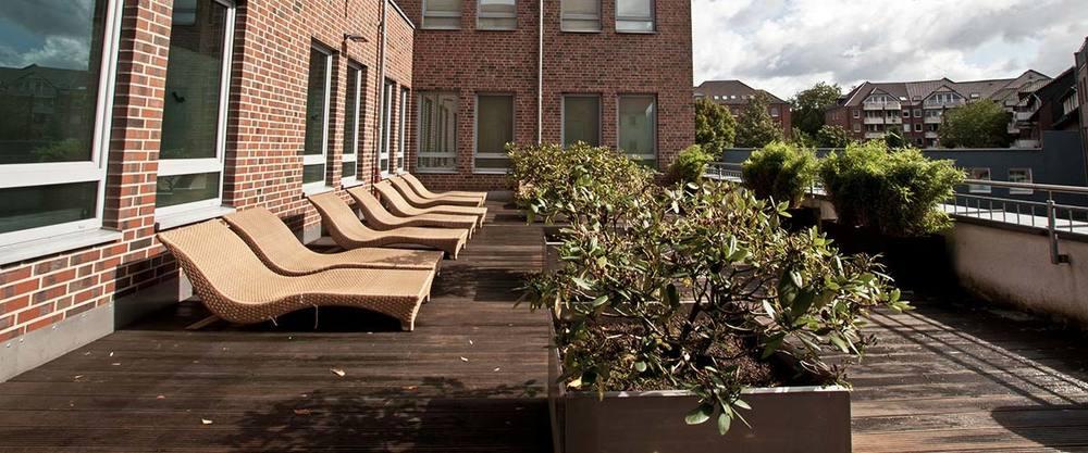 Wellness aussenbereich terrasse 0