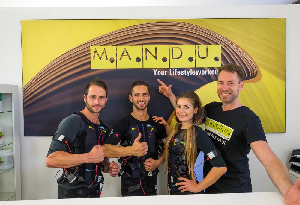 Mandu ems training in wien1 mike steffi