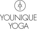 Yoga logo grau