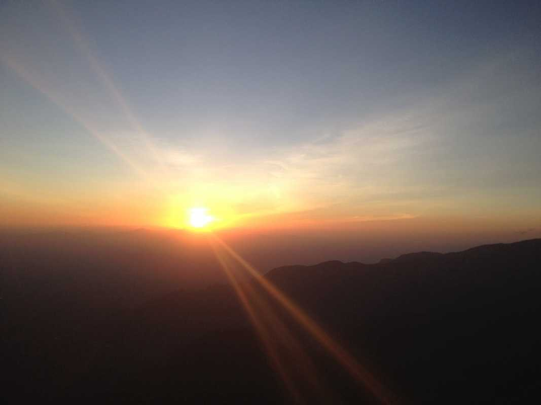 Sunrise in Kenya <3
