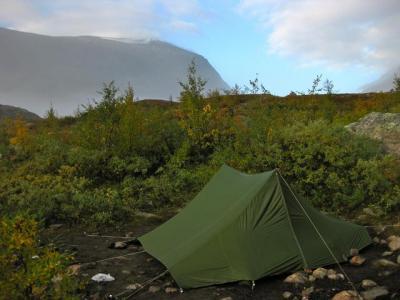 Telt med to innganger & fortelt Telt og lavvo Fjellforum