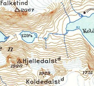 Kvalitet Af Topografiske Kort Over Norge Navigasjon Fjellforum
