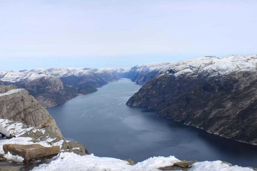 Fjelltur Til Preikestolen, 7 april 2012 040