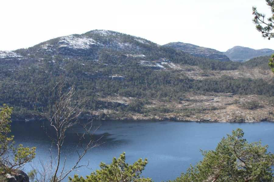 Fjelltur Til Preikestolen, 7 april 2012 006