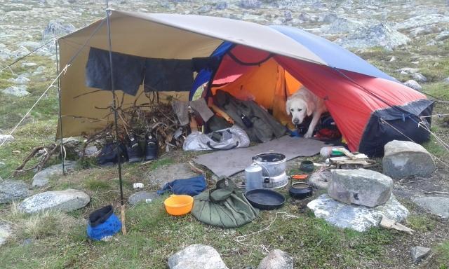 Telttur på hardangervidda sommer 2016 Fjellvandring