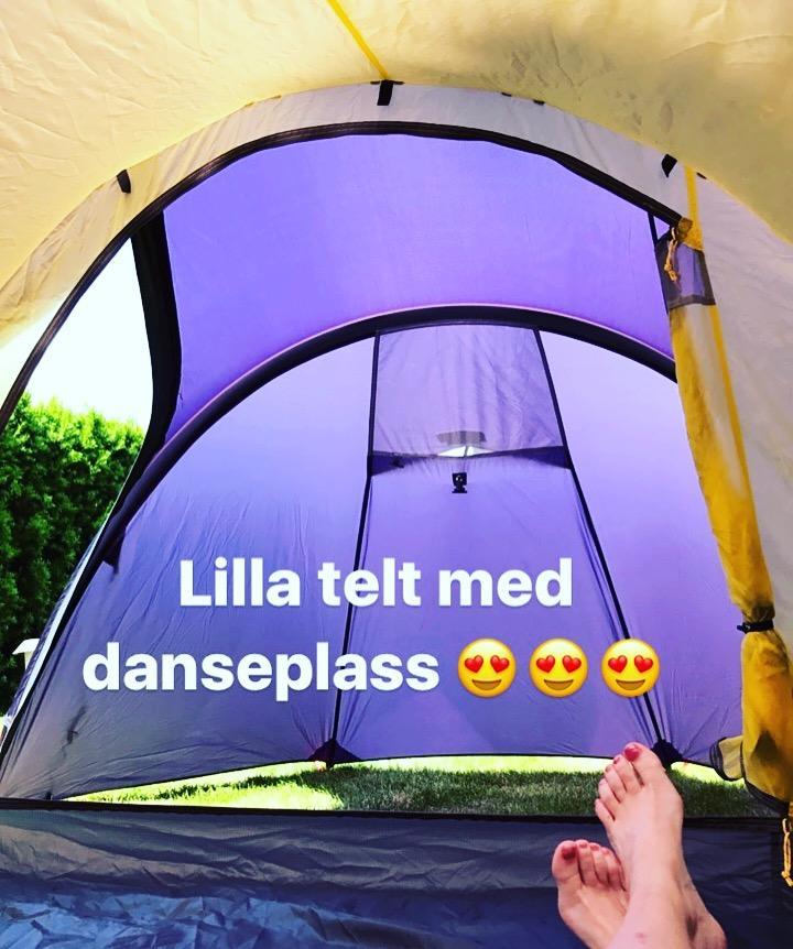 Sogn, Fjellsportuke, Sjoa og Beito med et lilla telt