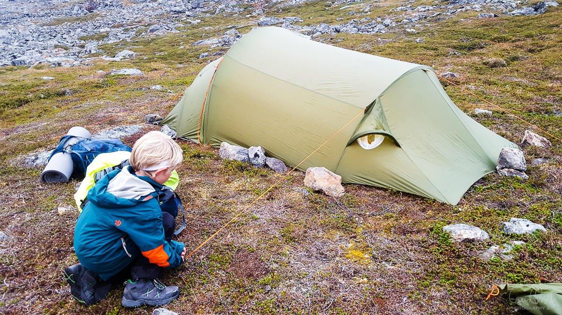 Alder på telt noe å si? Telt og lavvo Fjellforum