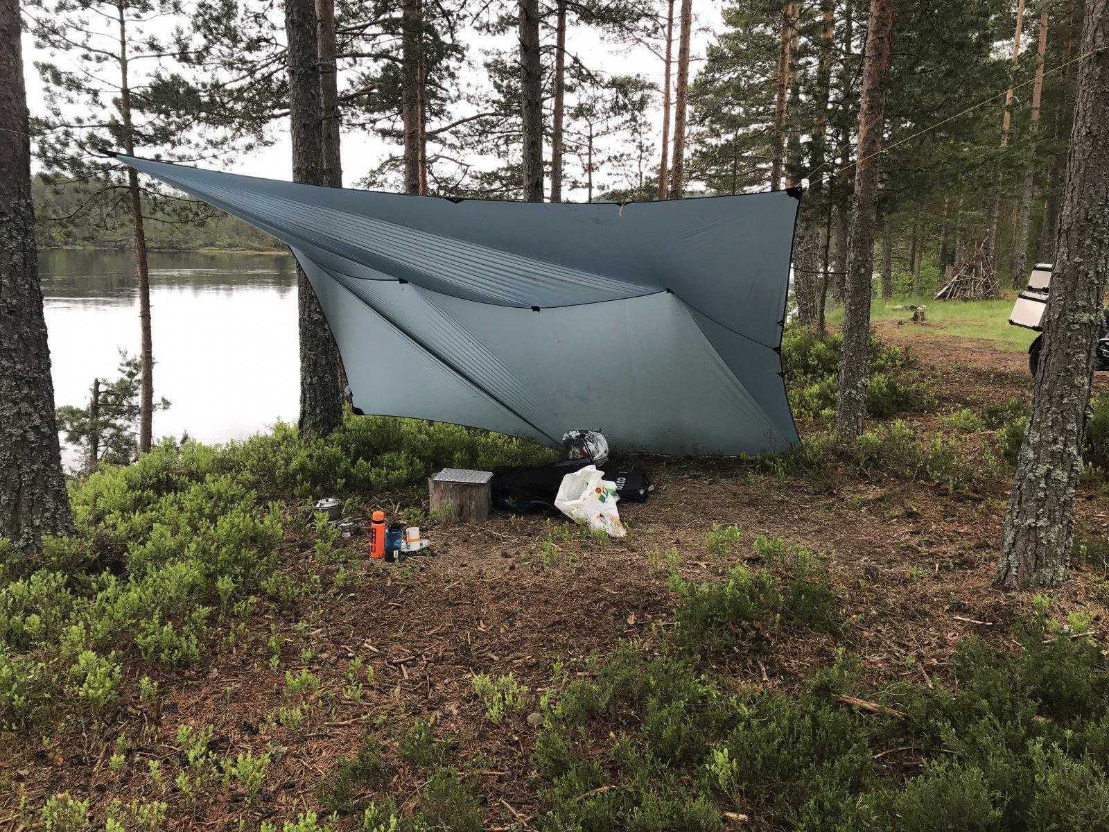 Oppsett telt og tarp Telt og lavvo Fjellforum