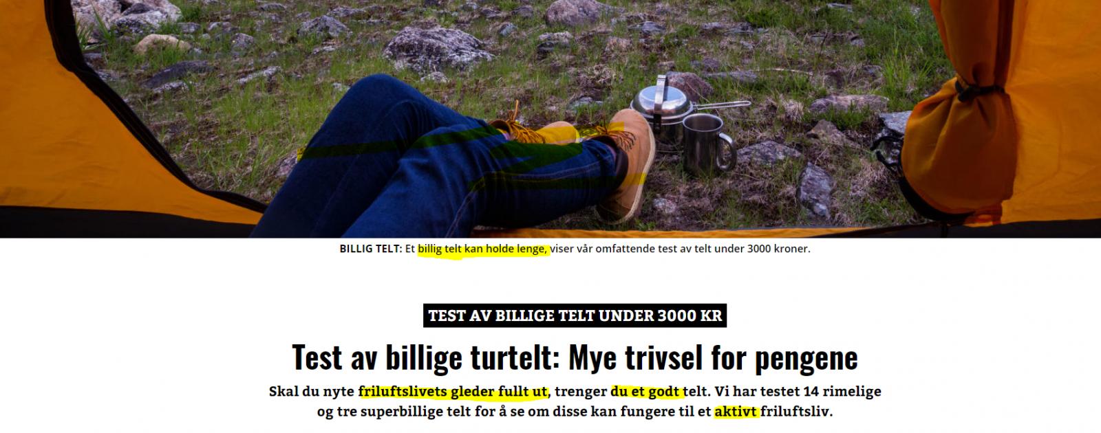 Test av billige telt side3 Telt og lavvo Fjellforum