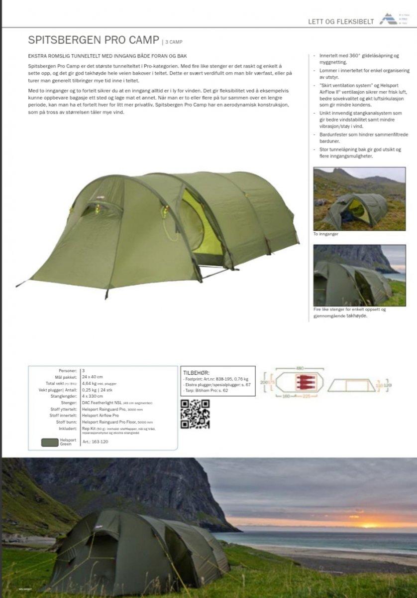 Førsteinntrykk: Helsport Spitsbergen Camp Pro Telt og