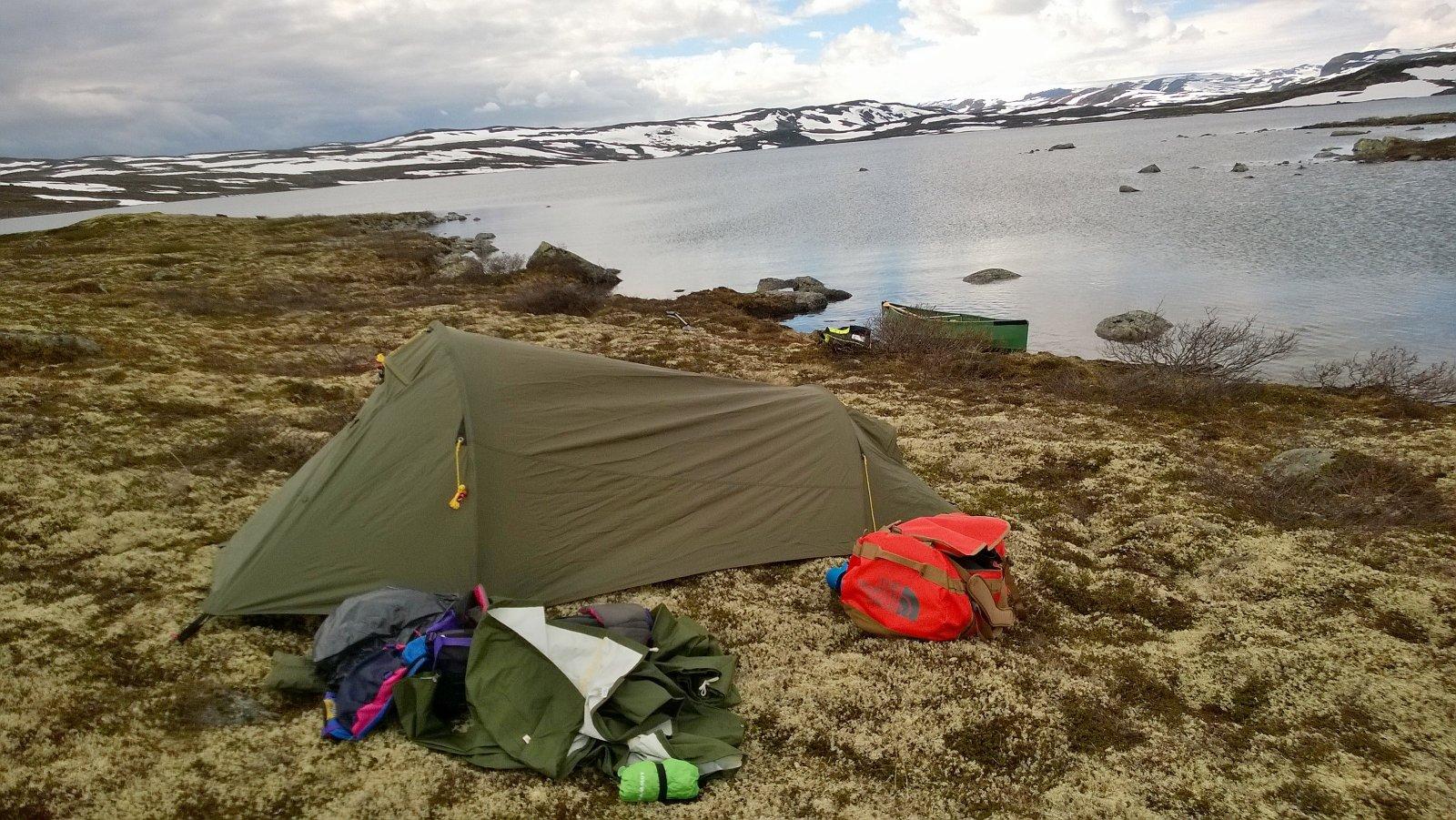 Nytt enmannstelt Telt og lavvo Fjellforum