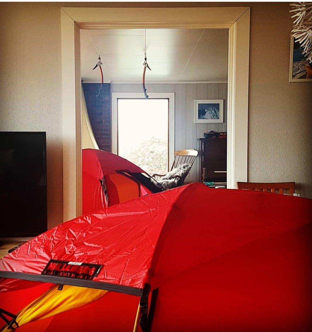 Rødt eller grønt telt Telt og lavvo Fjellforum
