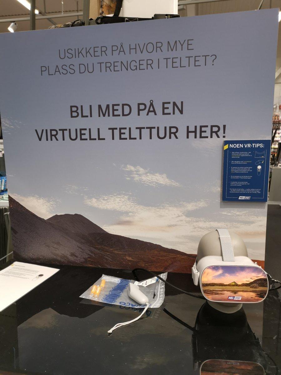 Helsport: Test teltet i VR Telt og lavvo Fjellforum