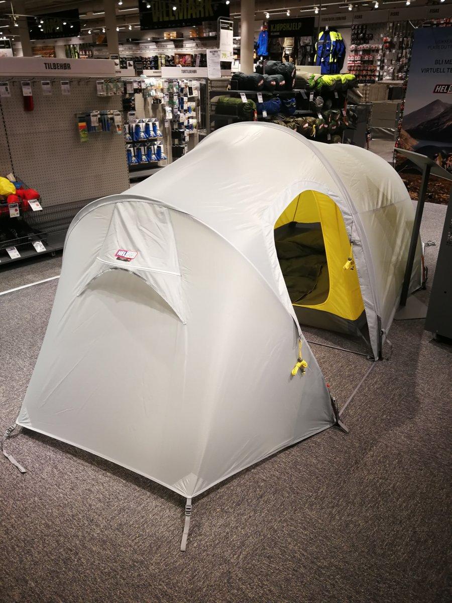 Ny teltfarge fra Helsport? Telt og lavvo Fjellforum