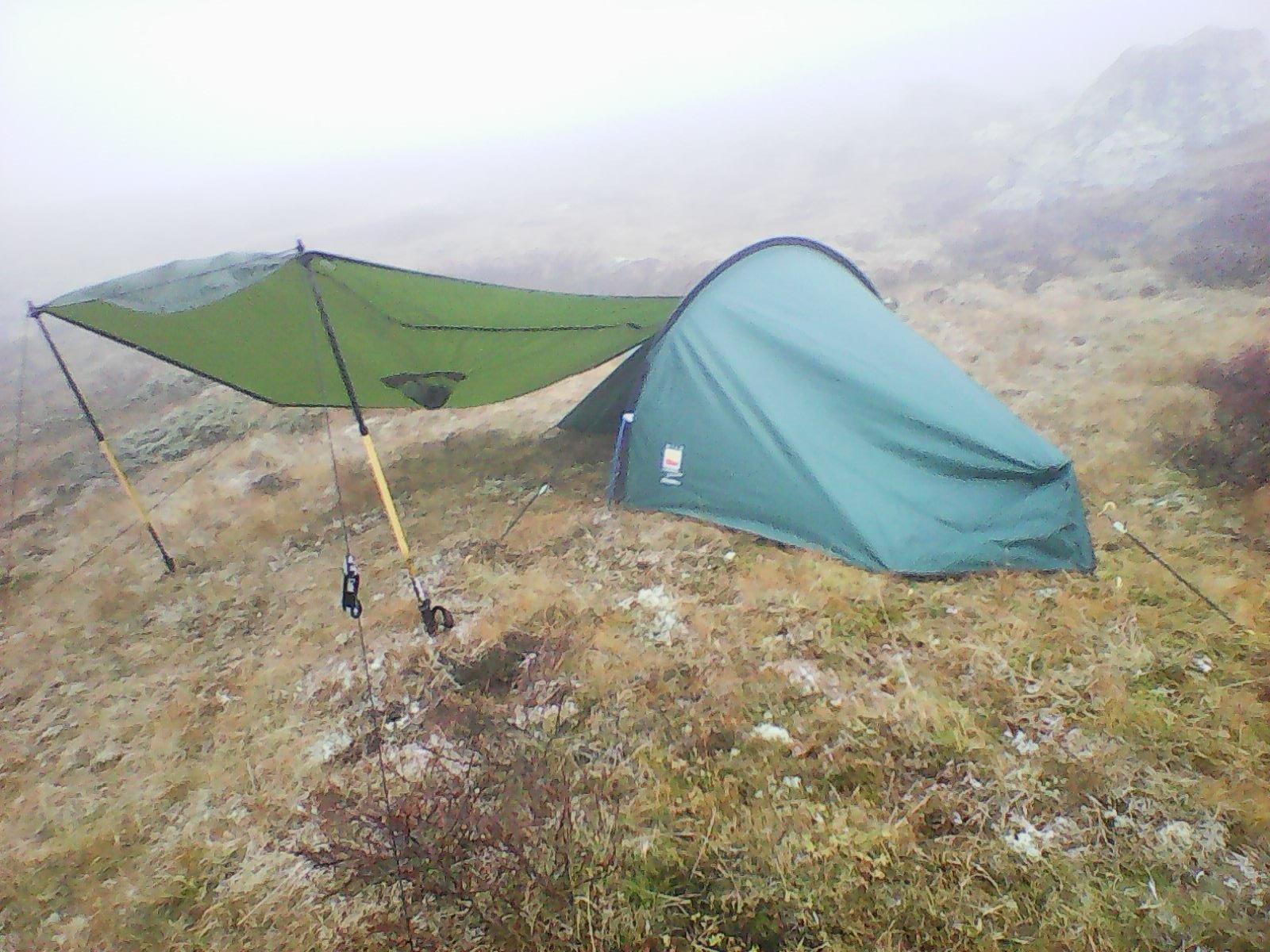 Hjelp til av valg av telt (1 pers, 2.0kg, 3500kr) Telt og