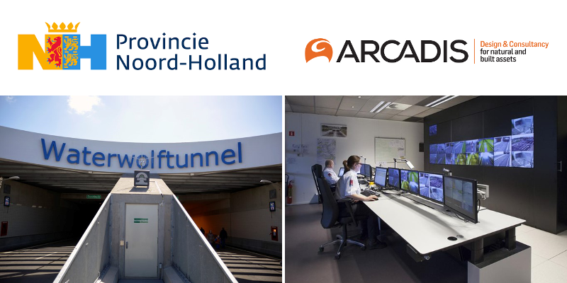 Site visit to a Province of North Holland tunnel control room & two tunnel objects