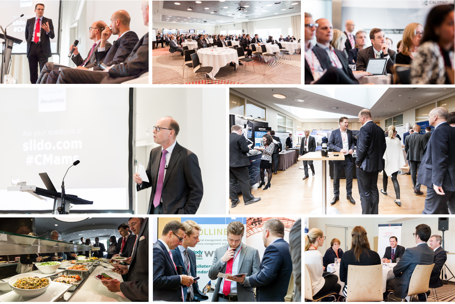 Fleming. Collateral Management Forum Photo Gallery Amsterdam