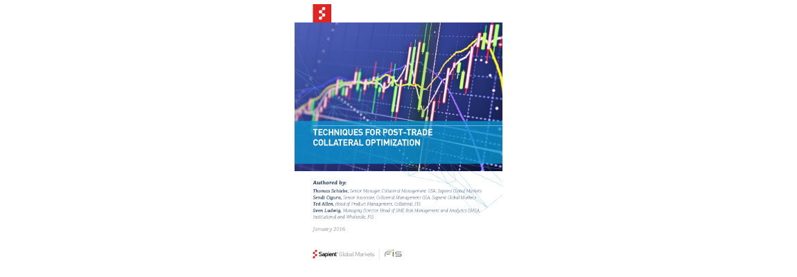 Techniques for post-trade collateral optimization whitepaper
