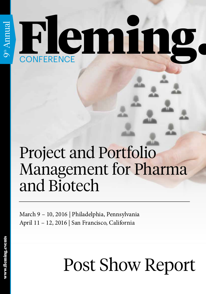 Post Show Report - Project and Portfolio Management for Pharma and Biotech