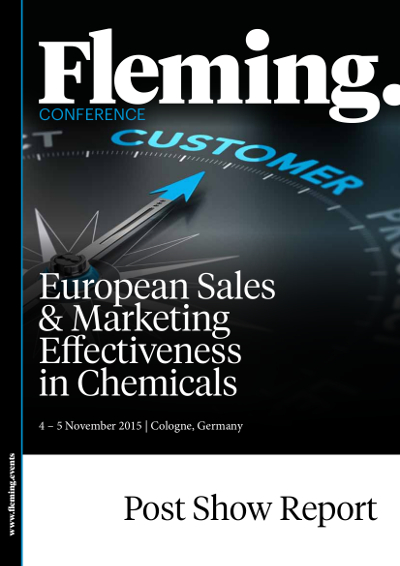 Post Show Report - European Sales & Marketing Effectivness in Chemicals 2015