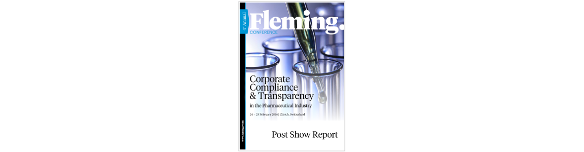 Corporate Compliance & Transparency in Pharma Fleming. Post show report