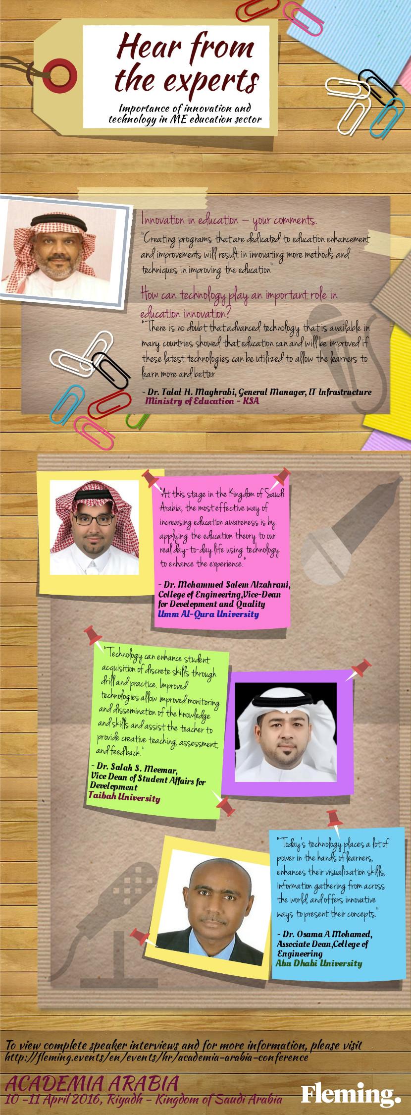 infographic Academia Arabia
