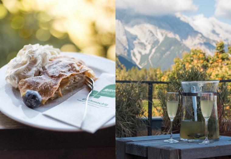 Tiroler Apfelstrudel & Almdudler {flowers on my plate}