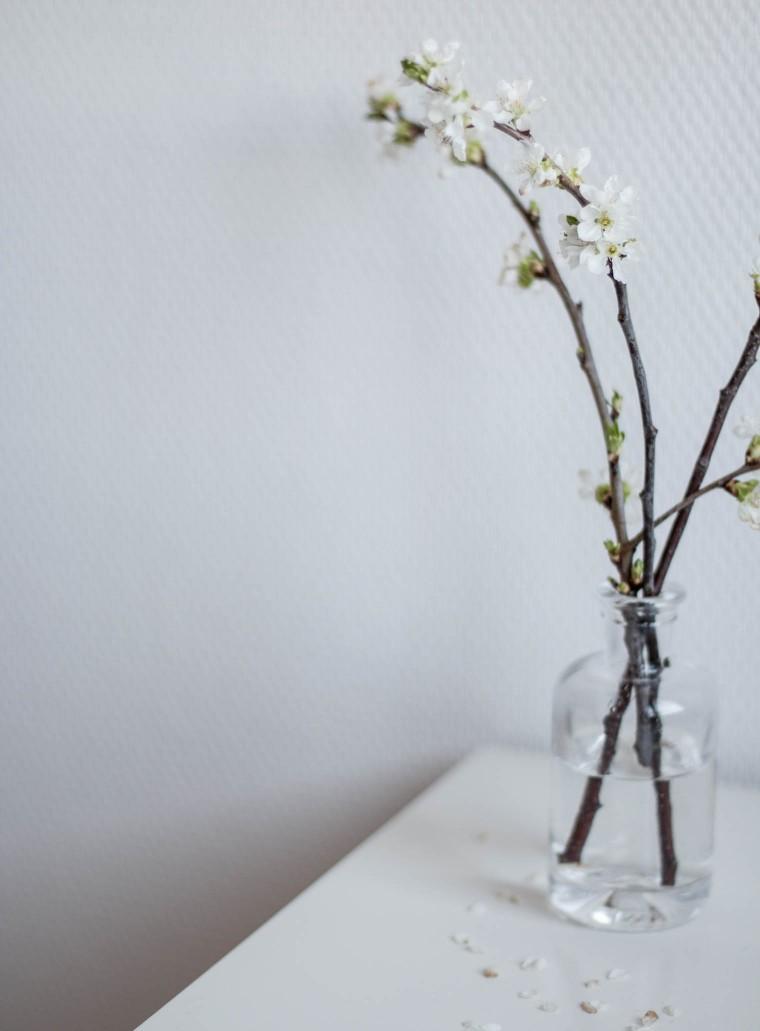 Hallo Kleines {flowers on my plate}