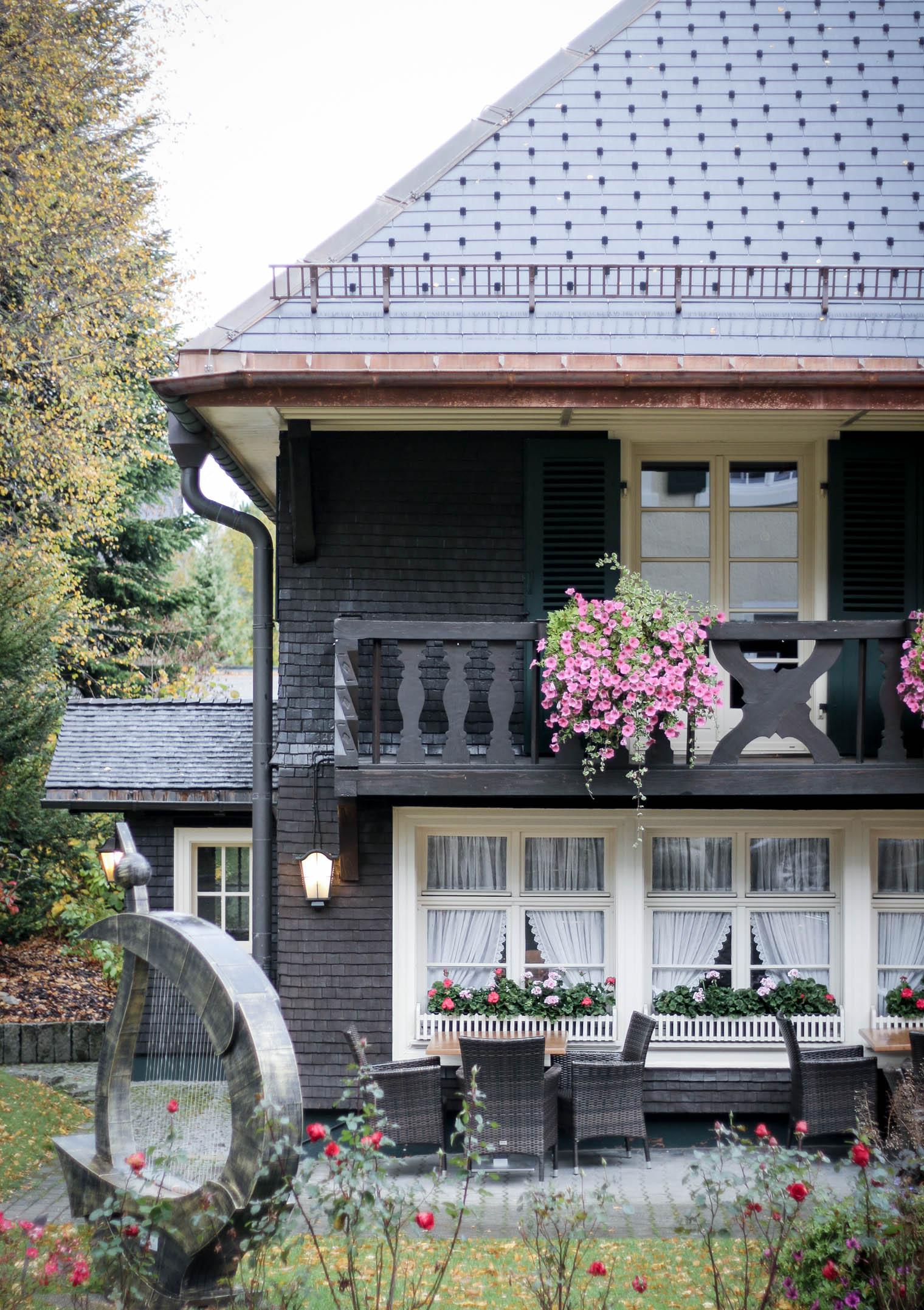 Parkhotel Adler in Hinterzarten {flowers on my plate}