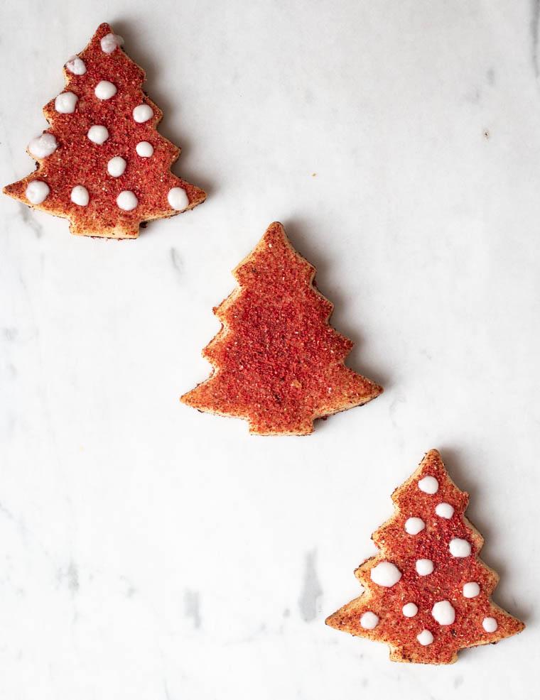 Rezept für natürlich gesüßte, zuckerfreie Weihnachtsplätzchen