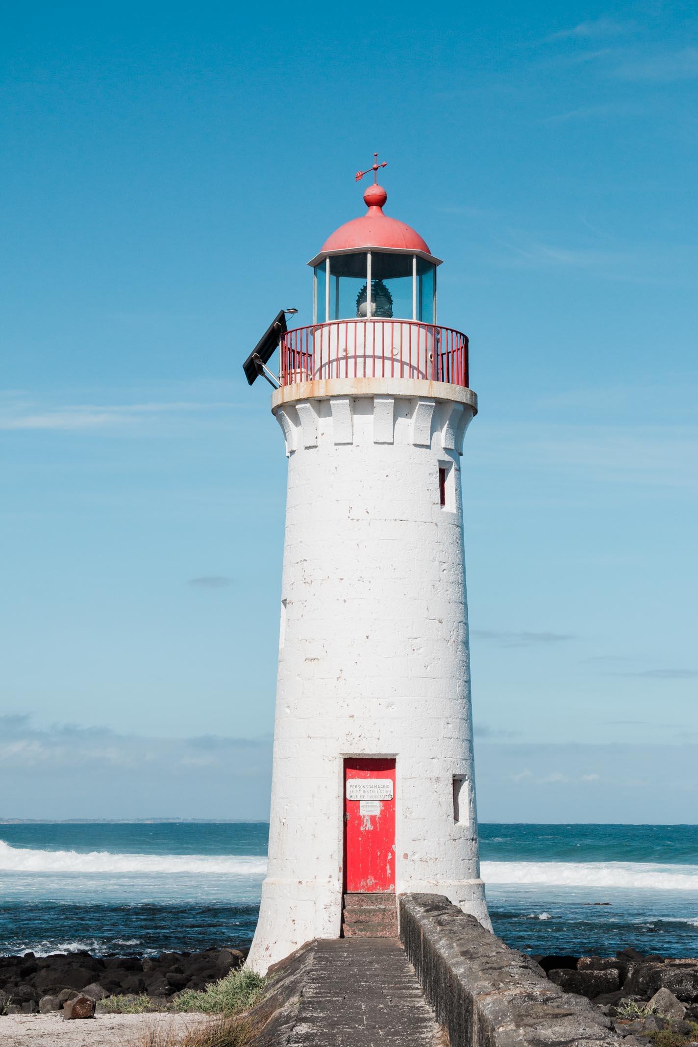 Great Ocean Road Australien Reise mit Kind Elternzeitreise Leuchtturm
