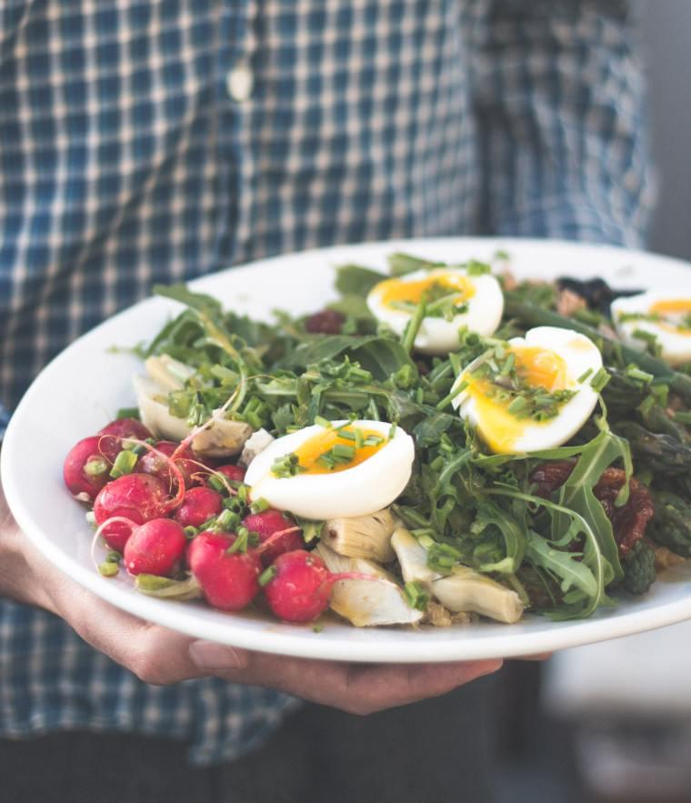 Rezept Spargel Salat Nicoise {flowers on my plate}