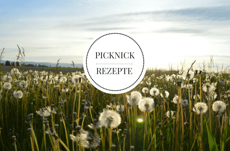 Picknick Rezepte {flowers on my plate}