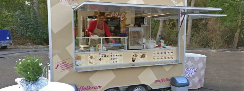 Impression Foodtruck WaffelKRAM - Belgische Waffeln Nachtisch Dessert Food Truck Catering