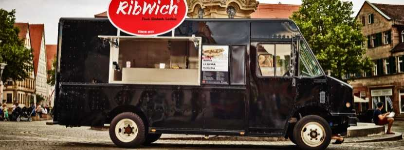 Impression Foodtruck RibWich