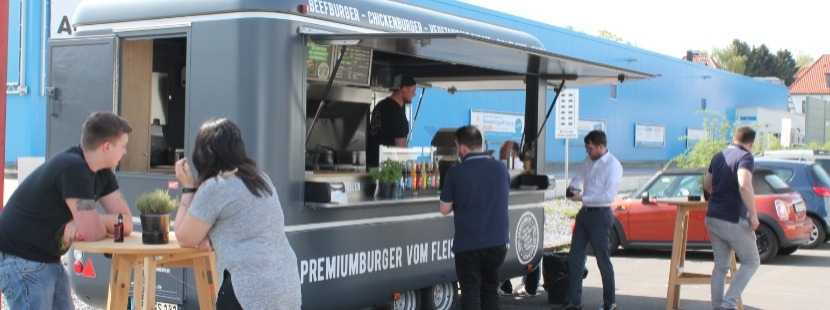 Impression Foodtruck Burgerschmied