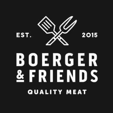 Logo Foodtruck boerger & friends