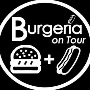 Logo Foodtruck Burgeria on tour