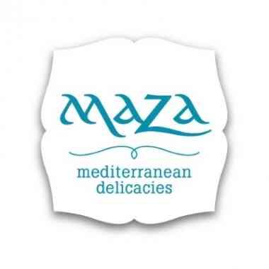 Logo Maza mediterranean delicacies