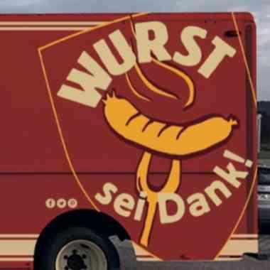 Logo Foodtruck Wurst sei Dank!