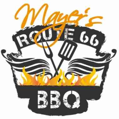 Logo Foodtruck Mayer´s Route 66 BBQ Smoker