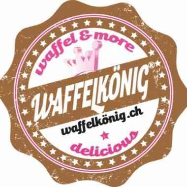 Logo Foodtruck Waffelkönig