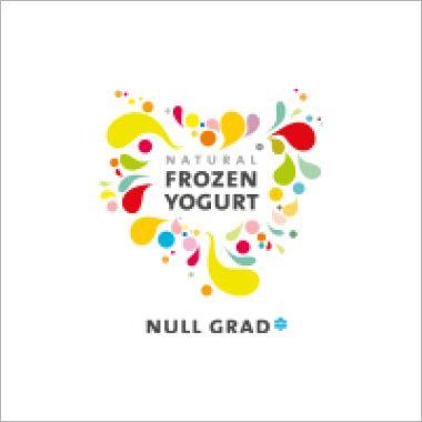 Logo Null Grad - Frozen Yogurt