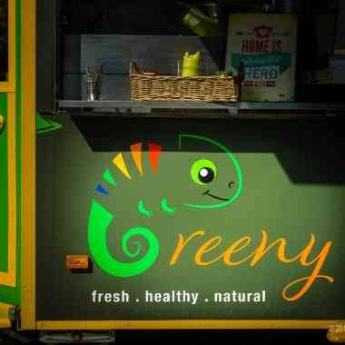 Logo Foodtruck Greeny Foodtruck