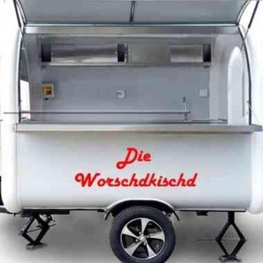 Logo Foodtruck Die Worschdkischd