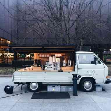 Logo Foodtruck Miró Coffee Truck