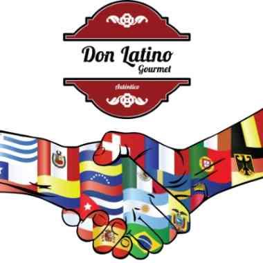 Logo Foodtruck Don Latino Gourmet