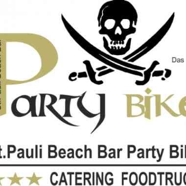 Logo St.Pauli Beach Bar Party Bike